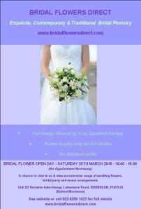 Open Day Flyer March 2015
