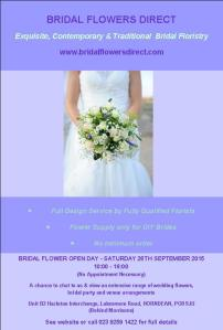 Open Day Flyer September 2015