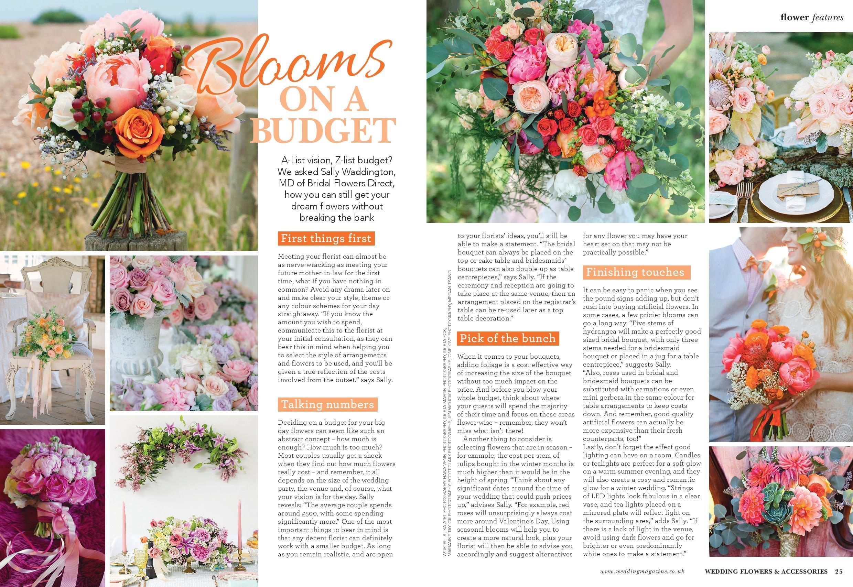 Wedding Flowers Accessories Magazine Bridal Flowers Direct